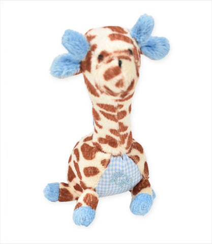 Pink and Blue Giraffe small dogs toys