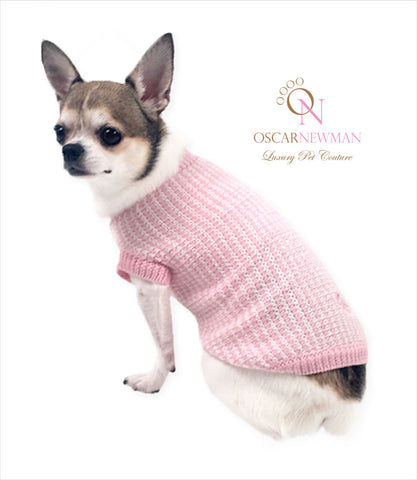 Oscar Newman It's a Girl Sweater for small dogs
