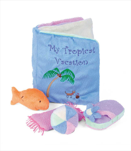 My Tropical Vacation Book Dog Toy