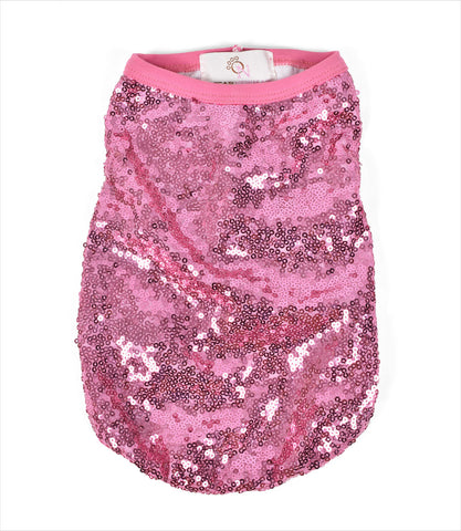 Glamour Girl Sequin Top for Small Dogs