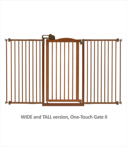 Wide and Tall One-Touch Gate II