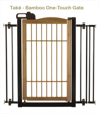 Take Bamboo dog gate