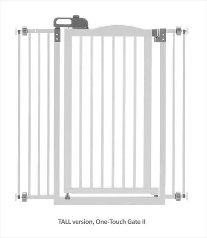 TALL One-Touch Gate in Origami White