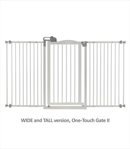 Wide and Tall One-Touch Gate