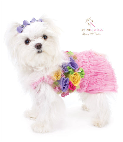 Oscar Newman Ka-Bloom Dress - Maltese
