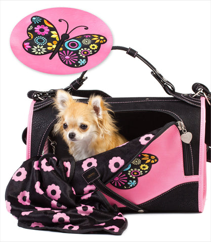 Pet Flys Butterfly Dog Carrier