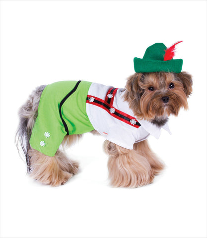 Alpine Boy Dog Costume