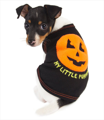 Pumpkin Dog Tank Shirt - Toy Fox Terrier