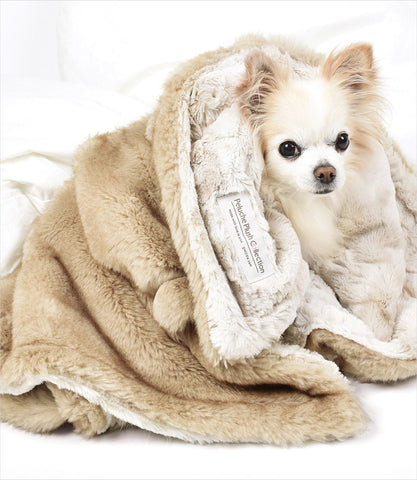 Peluche-Plush-Palomino-Dog-Blanket