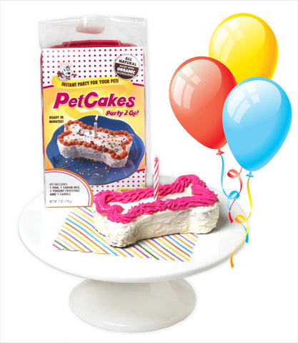 Pet Cakes Party 2 Go Kit for Dogs