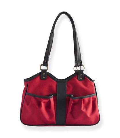 Red Metro Collection Dog Carrier - Front