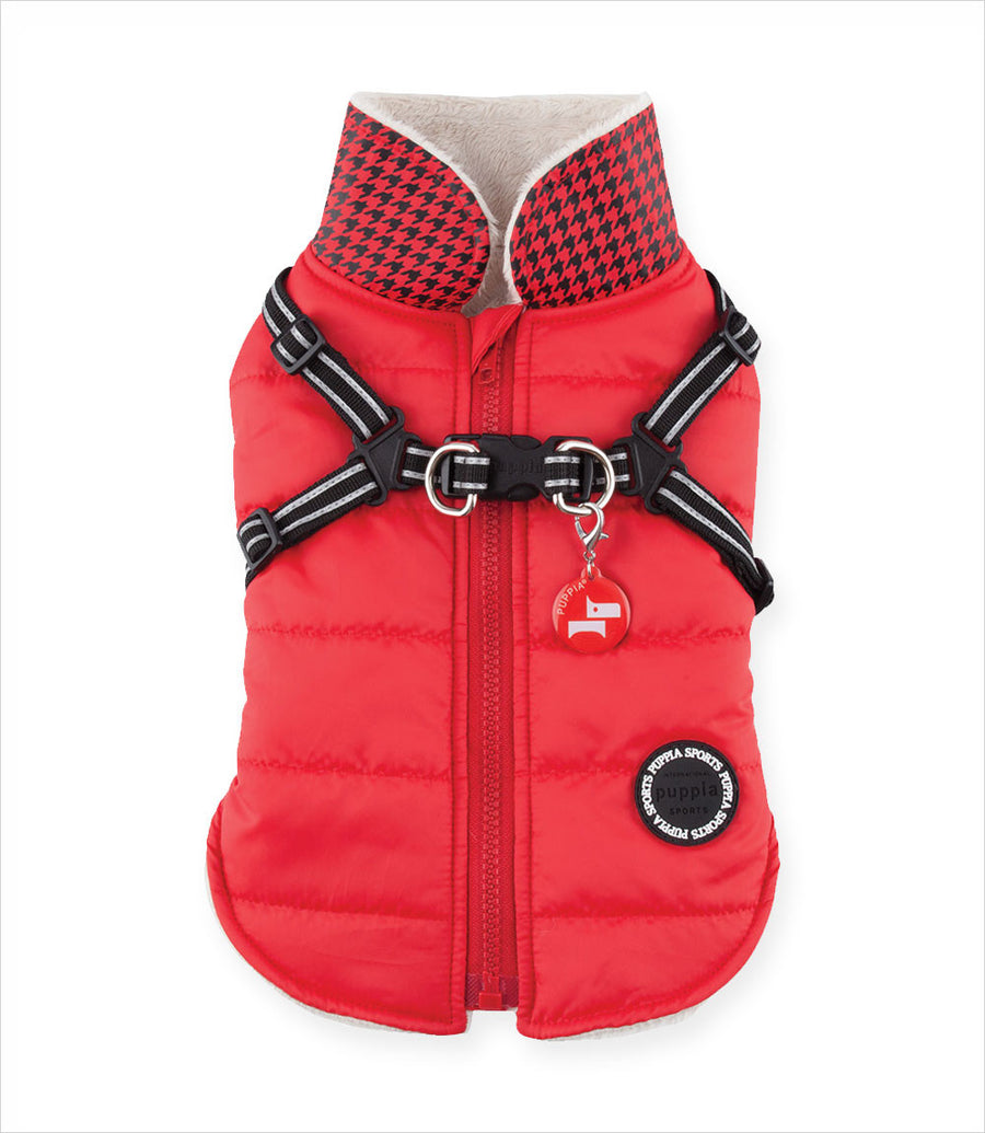 Winter Storm Dog Jacket with Harness