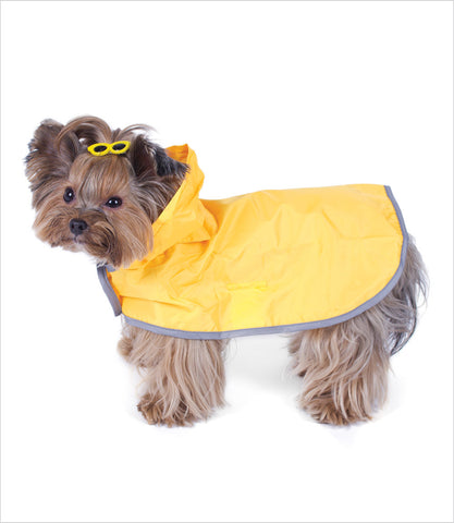 Dog Raincoat - Yellow
