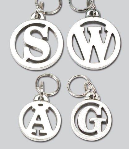 Cut Out Initial Dog Tag