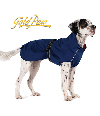 Gold Paw Rain Coat for Dogs
