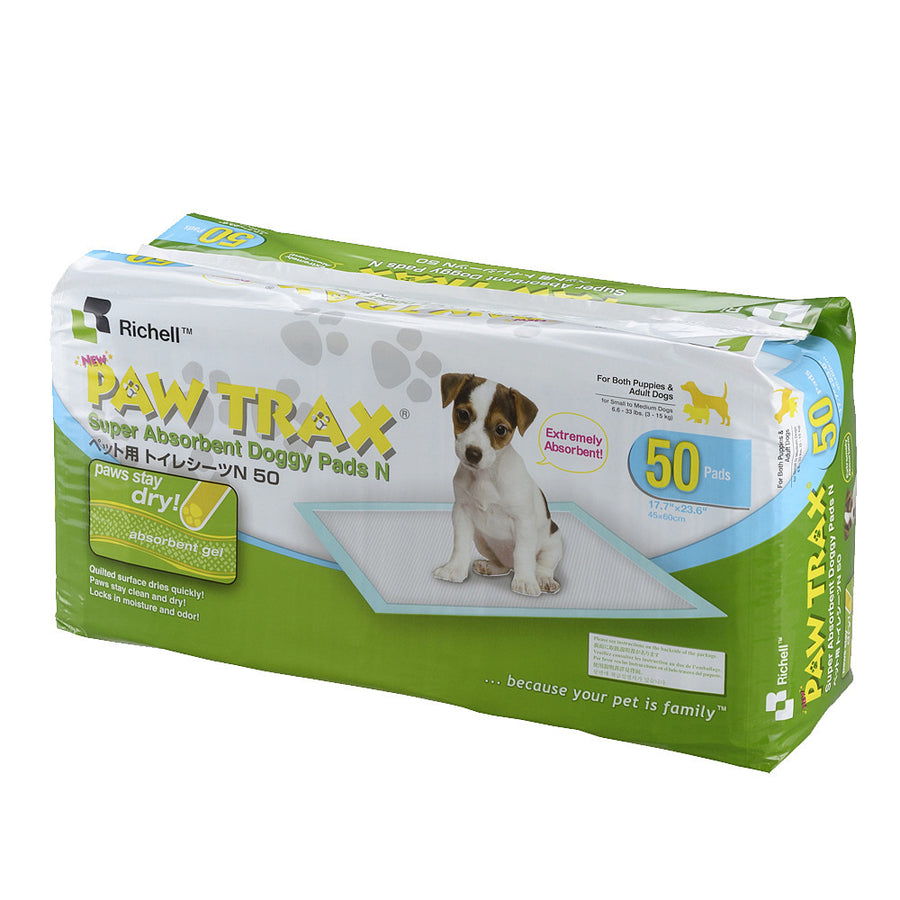 Paw Trax Training Pads (50 Pack)