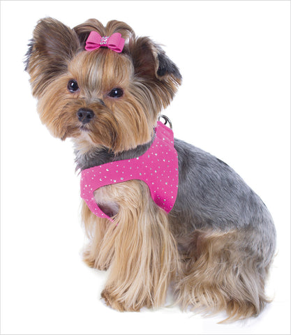 Stardust Step In Dog Harness - Pink Sapphire