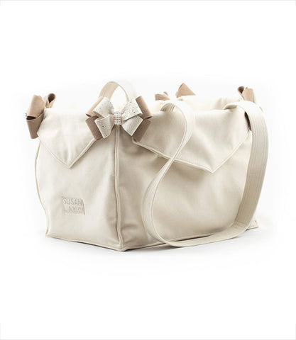 Doe Luxury Carrier by Susan Lanci with Fawn Nouveau Bows