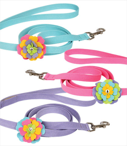 Fantasy Flower Dog Leash