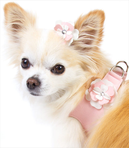 Special Occasion Pink Step In Harness - Chihuahua