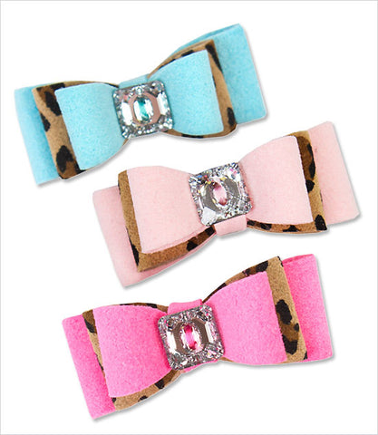 Susan Lanci Two-Tone Dog Hair Bow