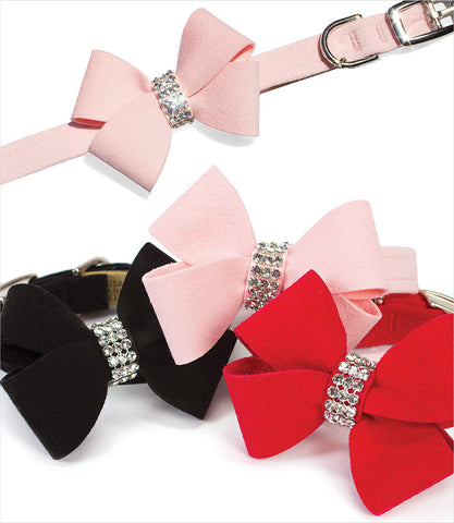Susan Lanci Nouveau Bow Dog Collar Group