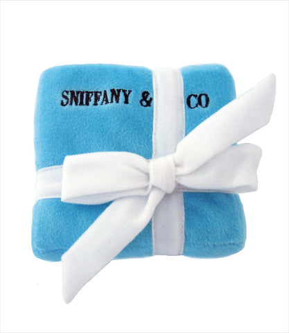 Sniffany Box Dog Squeak Toy