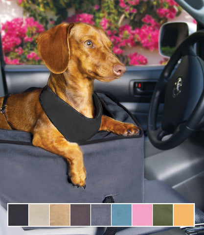 Anthracite Large Console Car Seat with Doxie