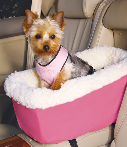 Hot Pink Pleather Console Car Seat