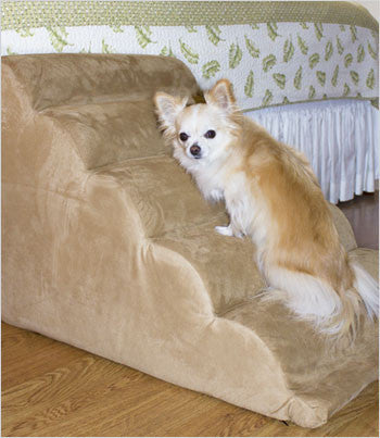 Large Microsuede Pet Ramp
