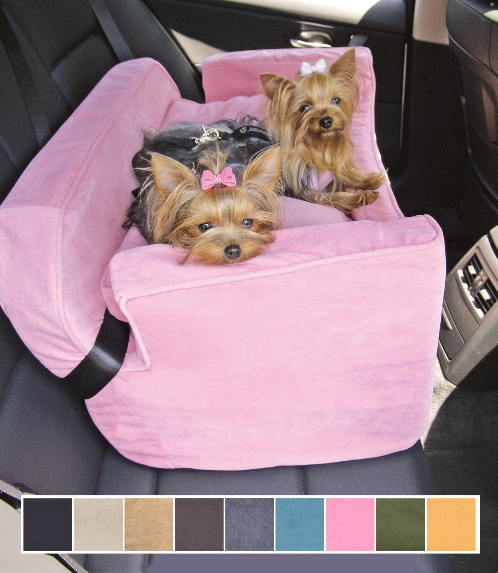 Dog Car Seat Microsuede