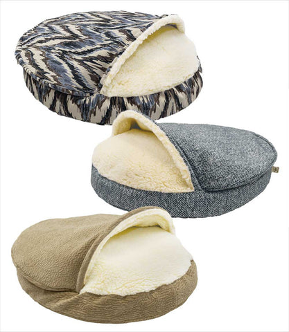 Show Dog Collection Large Luxury Cozy Cave Dog Beds