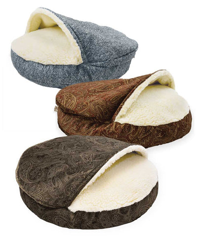 Show Dog Collection Small Luxury Cozy Cave Dog Beds