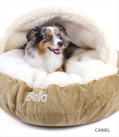 Luxury Cozy Cave Dog Bed - Medium