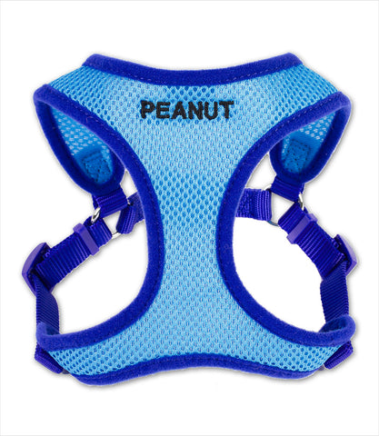 Tiny Personalized Comfort Wrap Dog Harness