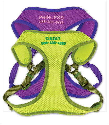 Small Personalized Comfort Wrap Dog Harness
