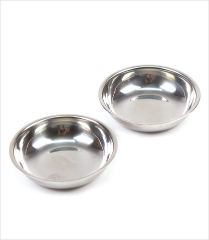 Stainless Steel Mini Dog Bowls
