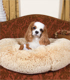 Susan Lanci Camel Powder Puff Dog Bed