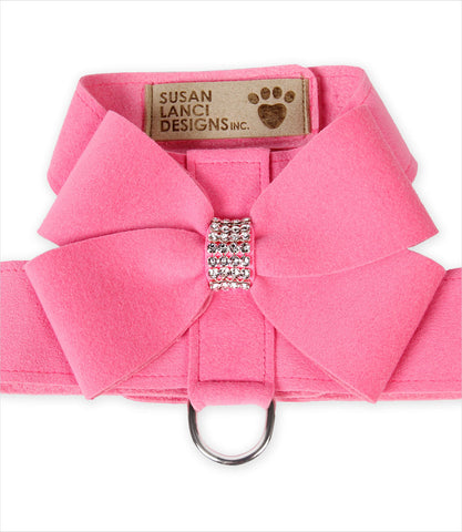 Perfect Pink - Nouveau Bow Tinki Dog Harness by Susan Lanci