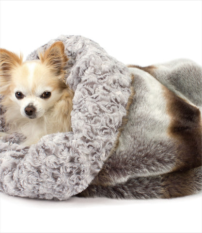 Silver Chinchilla Cuddle Cup Bed