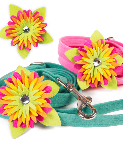 Island Flower Susan Lanci Dog Leash Grp