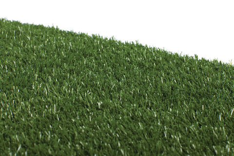 Tinkle Turf dog grass close up