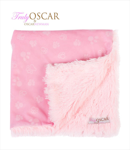 Sweet Dreams Pink Dog Blanket