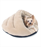 Yorkie inside Pita Pocket Dog Bed