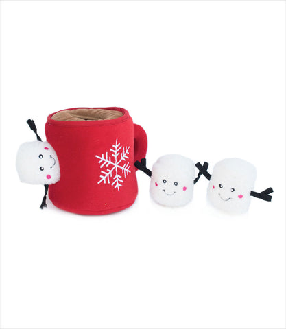 Zippy Paws Hot Cocoa Interactive Dog Toy