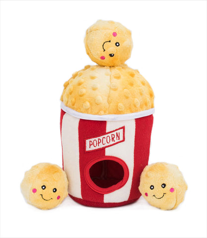 Interactive Dog Toy - Popcorn