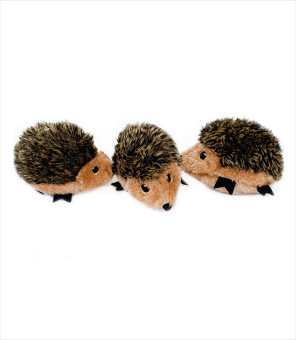 Zippy Paws Miniz Hedgehog Squeak Toys