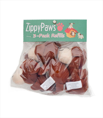 Zippy Paws Miniz Monkey Squeak Toys