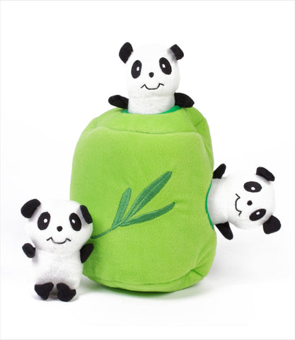 Panda and Bamboo Dog Toy