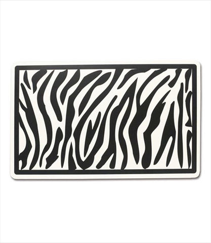 Zebra Dog Placemat
